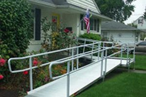 Wheel Chair Ramp Home Modification